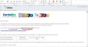 email di phishing